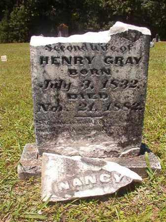 GRAY, NANCY A - Calhoun County, Arkansas | NANCY A GRAY - Arkansas Gravestone Photos
