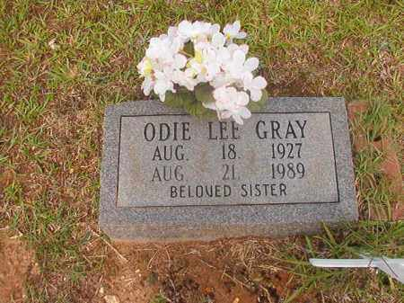 GRAY, ODIE LEE - Calhoun County, Arkansas   ODIE LEE GRAY - Arkansas Gravestone Photos