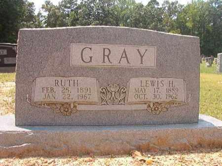 GRAY, RUTH - Calhoun County, Arkansas | RUTH GRAY - Arkansas Gravestone Photos