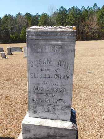GRAY, SUSAN ANN - Calhoun County, Arkansas | SUSAN ANN GRAY - Arkansas Gravestone Photos