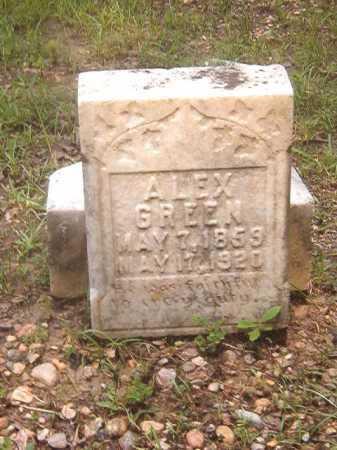 GREEN, ALEX - Calhoun County, Arkansas   ALEX GREEN - Arkansas Gravestone Photos