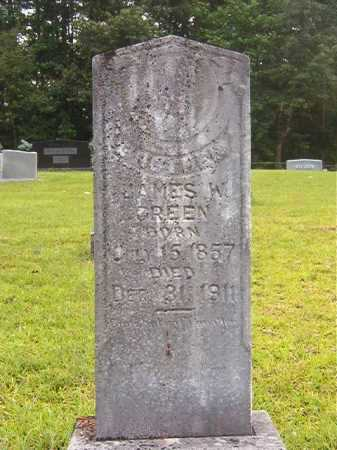 GREEN, JAMES W - Calhoun County, Arkansas   JAMES W GREEN - Arkansas Gravestone Photos