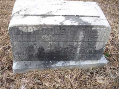 GREEN, MARY AUDERY - Calhoun County, Arkansas | MARY AUDERY GREEN - Arkansas Gravestone Photos