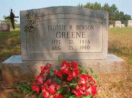 BENSON GREENE, FLOSSIE R - Calhoun County, Arkansas   FLOSSIE R BENSON GREENE - Arkansas Gravestone Photos