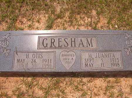 GRESHAM, H OTIS - Calhoun County, Arkansas   H OTIS GRESHAM - Arkansas Gravestone Photos