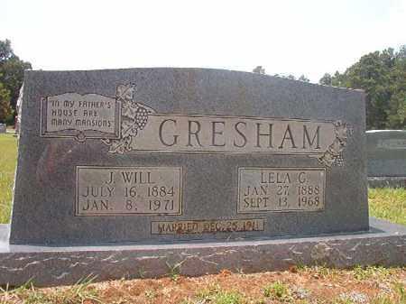 GRESHAM, LELA - Calhoun County, Arkansas | LELA GRESHAM - Arkansas Gravestone Photos