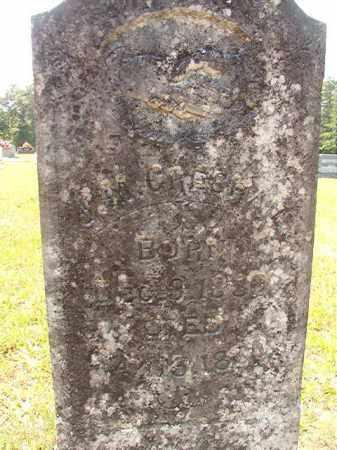 GRESHAM, J M - Calhoun County, Arkansas   J M GRESHAM - Arkansas Gravestone Photos