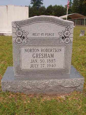 GRESHAM, NORTON ROBERTSON - Calhoun County, Arkansas   NORTON ROBERTSON GRESHAM - Arkansas Gravestone Photos