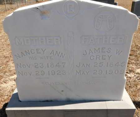 GREY, NANCEY ANN - Calhoun County, Arkansas | NANCEY ANN GREY - Arkansas Gravestone Photos