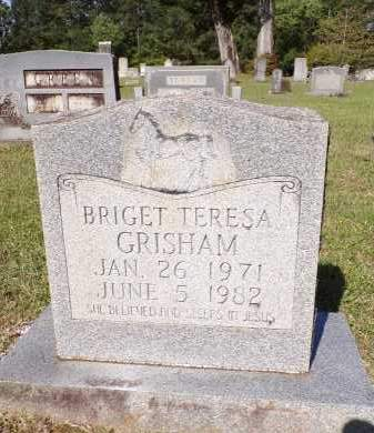 GRISHAM, BRIGET TERESA - Calhoun County, Arkansas | BRIGET TERESA GRISHAM - Arkansas Gravestone Photos