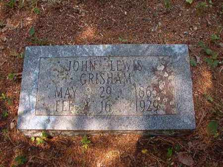 GRISHAM, JOHN LEWIS - Calhoun County, Arkansas   JOHN LEWIS GRISHAM - Arkansas Gravestone Photos