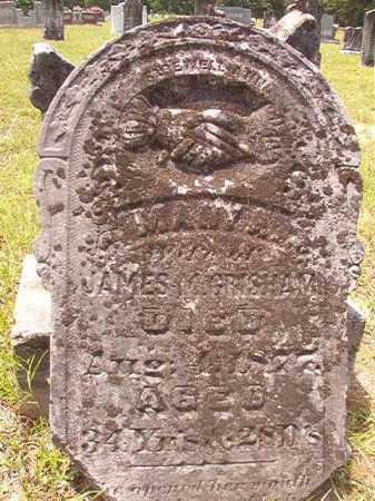 GRISHAM, MARY A - Calhoun County, Arkansas | MARY A GRISHAM - Arkansas Gravestone Photos