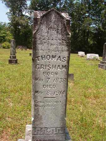 GRISHAM, THOMAS - Calhoun County, Arkansas | THOMAS GRISHAM - Arkansas Gravestone Photos