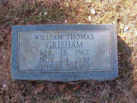 GRISHAM, WILLIAM THOMAS - Calhoun County, Arkansas | WILLIAM THOMAS GRISHAM - Arkansas Gravestone Photos