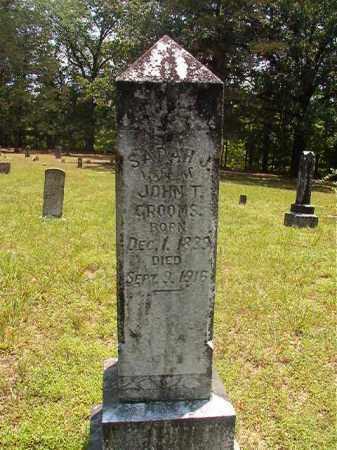 GROOMS, SARAH J - Calhoun County, Arkansas | SARAH J GROOMS - Arkansas Gravestone Photos