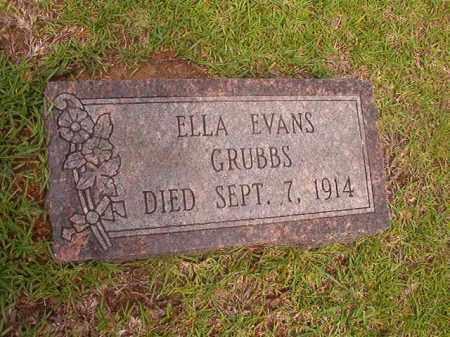 GRUBBS, ELLA - Calhoun County, Arkansas | ELLA GRUBBS - Arkansas Gravestone Photos