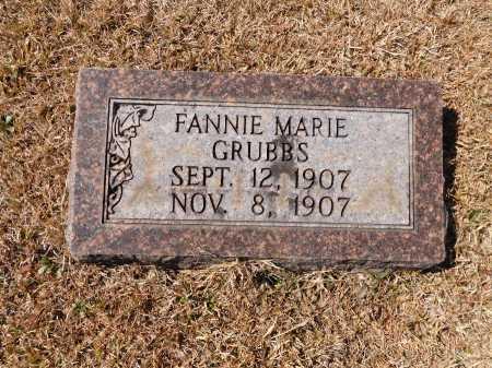 GRUBBS, FANNIE MARIE - Calhoun County, Arkansas | FANNIE MARIE GRUBBS - Arkansas Gravestone Photos