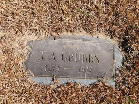 GRUBBS, T A - Calhoun County, Arkansas | T A GRUBBS - Arkansas Gravestone Photos
