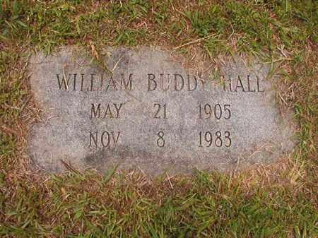 HALL, WILLIAM BUDDY - Calhoun County, Arkansas   WILLIAM BUDDY HALL - Arkansas Gravestone Photos