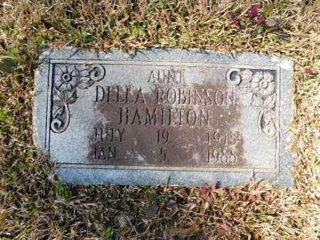 HAMILTON, DELLA - Calhoun County, Arkansas | DELLA HAMILTON - Arkansas Gravestone Photos