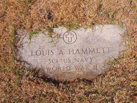 HAMMETT (VETERAN WWII), LOUIS A - Calhoun County, Arkansas | LOUIS A HAMMETT (VETERAN WWII) - Arkansas Gravestone Photos