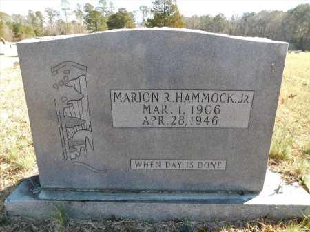 HAMMOCK, JR, MARION R - Calhoun County, Arkansas   MARION R HAMMOCK, JR - Arkansas Gravestone Photos
