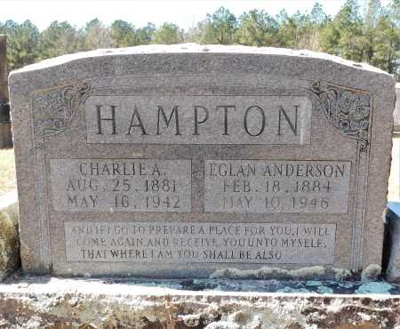 HAMPTON, EGLAN - Calhoun County, Arkansas | EGLAN HAMPTON - Arkansas Gravestone Photos