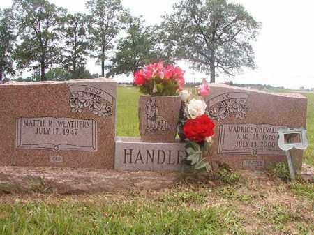 HANDLEY, MAURICE CHEVALIER - Calhoun County, Arkansas | MAURICE CHEVALIER HANDLEY - Arkansas Gravestone Photos
