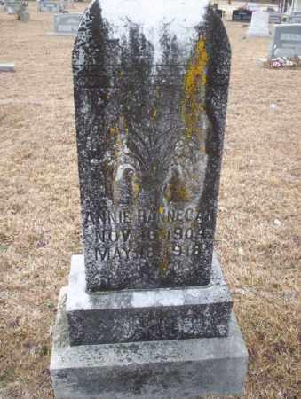 HANNEGAN, ANNIE - Calhoun County, Arkansas   ANNIE HANNEGAN - Arkansas Gravestone Photos