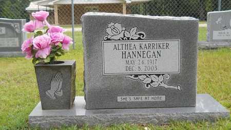 HANNEGAN, ALTHEA - Calhoun County, Arkansas | ALTHEA HANNEGAN - Arkansas Gravestone Photos