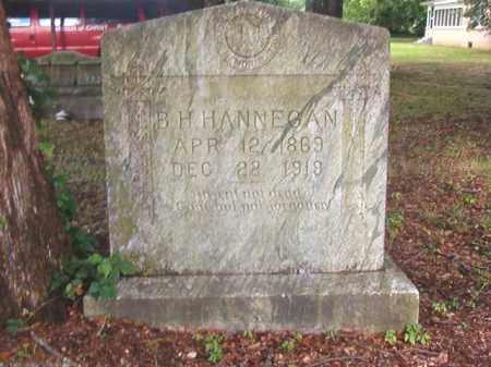 HANNEGAN, B H - Calhoun County, Arkansas | B H HANNEGAN - Arkansas Gravestone Photos