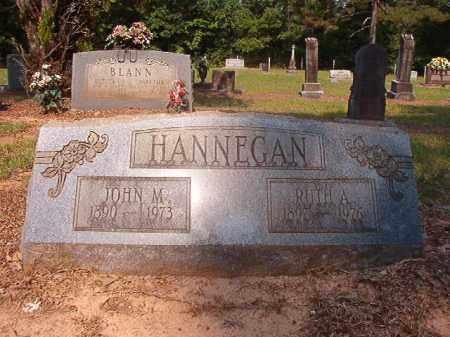 HANNEGAN, JOHN M - Calhoun County, Arkansas   JOHN M HANNEGAN - Arkansas Gravestone Photos