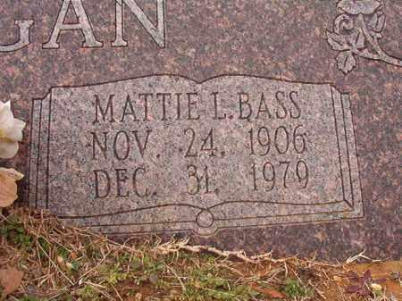 HANNEGAN, MATTIE L - Calhoun County, Arkansas | MATTIE L HANNEGAN - Arkansas Gravestone Photos