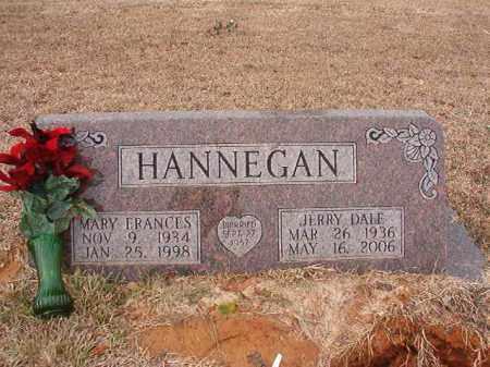 HANNEGAN, MARY FRANCES - Calhoun County, Arkansas | MARY FRANCES HANNEGAN - Arkansas Gravestone Photos