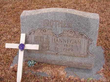 HANNEGAN, MILLIE - Calhoun County, Arkansas | MILLIE HANNEGAN - Arkansas Gravestone Photos