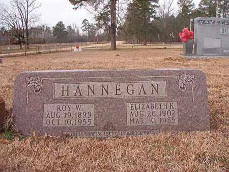 HANNEGAN, ROY W - Calhoun County, Arkansas | ROY W HANNEGAN - Arkansas Gravestone Photos