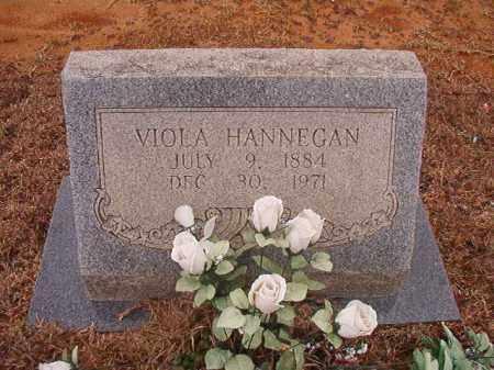 HANNEGAN, VIOLA - Calhoun County, Arkansas | VIOLA HANNEGAN - Arkansas Gravestone Photos