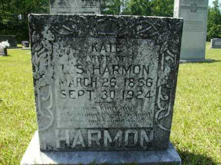 HARMON, KATE - Calhoun County, Arkansas | KATE HARMON - Arkansas Gravestone Photos
