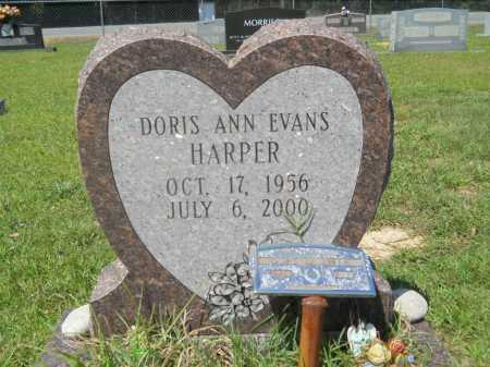 EVANS HARPER, DORIS ANN - Calhoun County, Arkansas | DORIS ANN EVANS HARPER - Arkansas Gravestone Photos