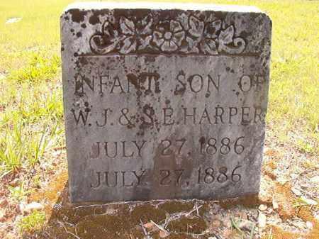 HARPER, INFANT SON - Calhoun County, Arkansas   INFANT SON HARPER - Arkansas Gravestone Photos