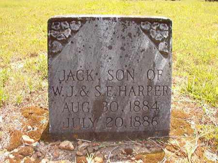 HARPER, JACK - Calhoun County, Arkansas   JACK HARPER - Arkansas Gravestone Photos