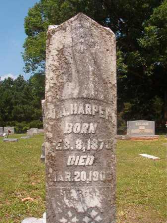 HARPER, J A - Calhoun County, Arkansas | J A HARPER - Arkansas Gravestone Photos