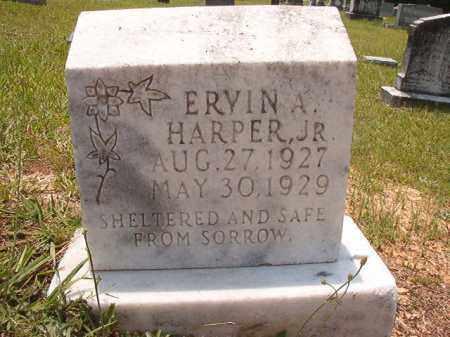 HARPER, JR, ERVIN A - Calhoun County, Arkansas | ERVIN A HARPER, JR - Arkansas Gravestone Photos