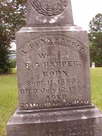 BUNN HARPER, L - Calhoun County, Arkansas | L BUNN HARPER - Arkansas Gravestone Photos