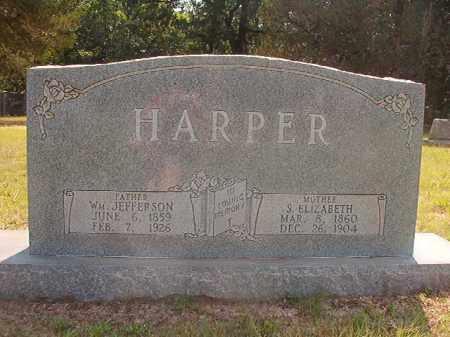 HARPER, WILLIAM JEFFERSON - Calhoun County, Arkansas | WILLIAM JEFFERSON HARPER - Arkansas Gravestone Photos
