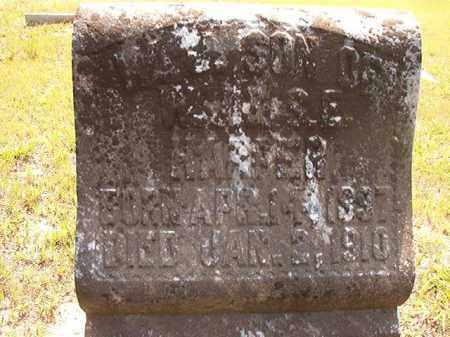HARPER, WILLIAM J - Calhoun County, Arkansas | WILLIAM J HARPER - Arkansas Gravestone Photos