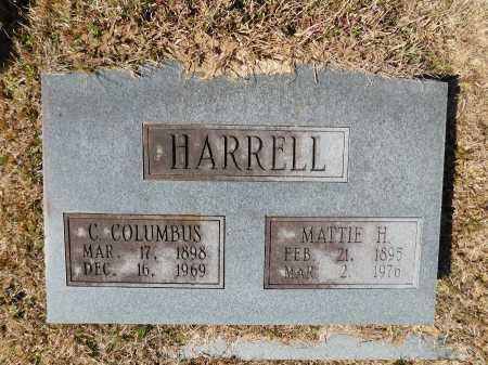 HARRELL, C COLUMBUS - Calhoun County, Arkansas | C COLUMBUS HARRELL - Arkansas Gravestone Photos