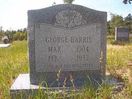 HARRIS, GEORGE - Calhoun County, Arkansas   GEORGE HARRIS - Arkansas Gravestone Photos