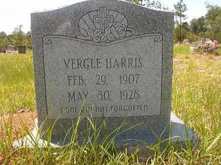 HARRIS, VERGLE - Calhoun County, Arkansas   VERGLE HARRIS - Arkansas Gravestone Photos