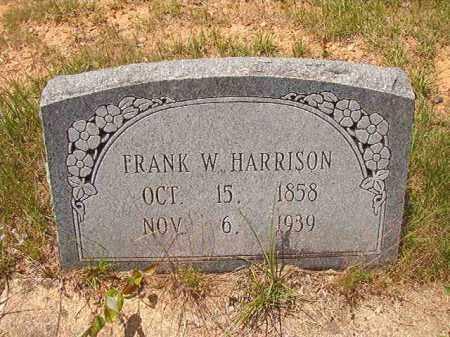 HARRISON, FRANK W - Calhoun County, Arkansas   FRANK W HARRISON - Arkansas Gravestone Photos